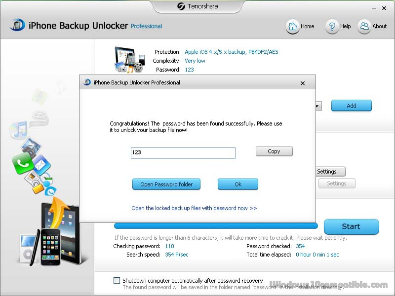 iphone unlocker pro tenorshare iphone backup unlocker pro 3 3 0 0 free 2701